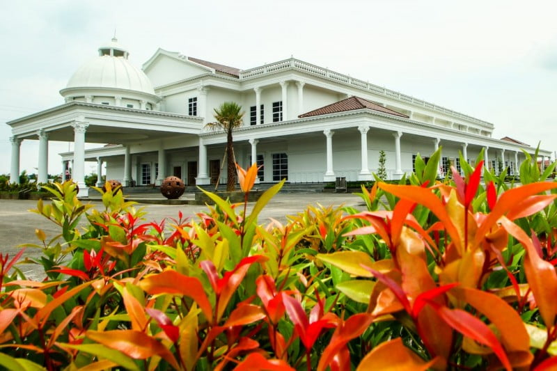 Detiksumsel/Tohir poto gedung The Sultan Cinvention